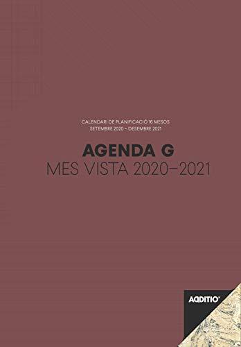 Agenda G 2020-2021 mes vista para el profesorado (catalán)...