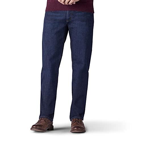 Lee Pantalones Vaqueros de Corte Regular para Hombre, Fresno, 38W x 28L