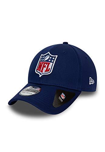 New Era League Shield 39Thirty Cap NFL Logo Blau, Size:M/L