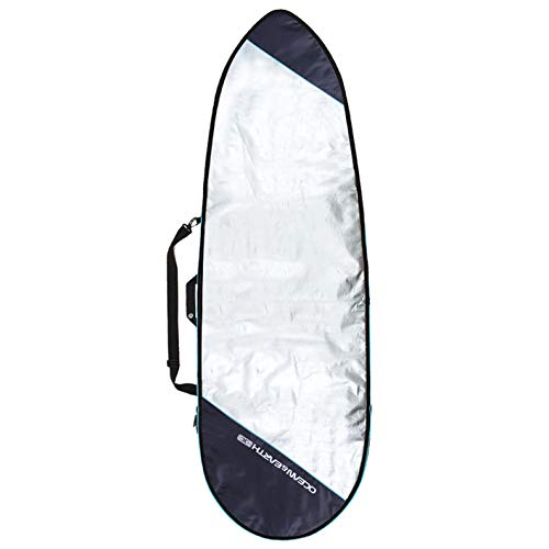 OCEAN & EARTH - Funda Unisex para Tabla de Surf, 6'4, Plateado