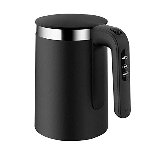 1.5L Electric Kettle Intelligent Thermostat Anti-Scalding Stainless Steel Glass Electric Kettle for Pour Over Coffee and Tea, with Fast Boiling Feature