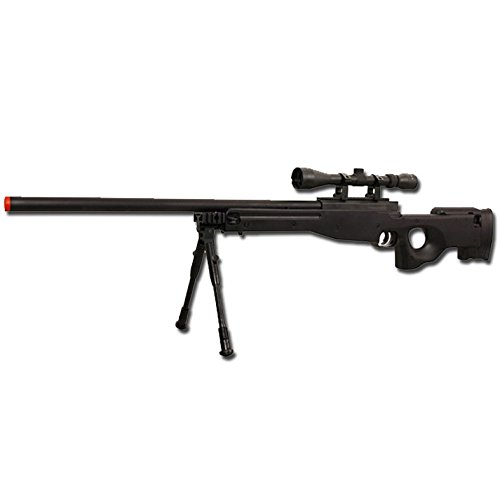 WELL FUCILE A MOLLA MAUSER SL86 FULL SET MB01 SOFTAIR (0.9 JOULE) (NERO)