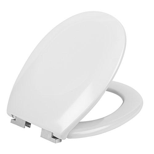 Beldray® LA030252 - Copriwater universale ad abbassamento automatico in Duroplast, bianco