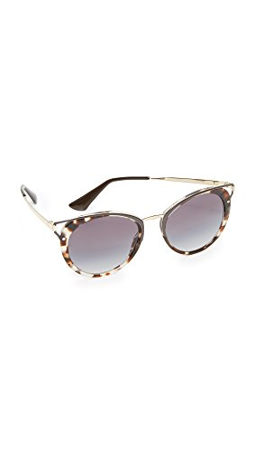 Prada 0Pr66Ts Uao5D1 54 Occhiali da Sole, Marrone (Spotted Opal Brown/Greygradient), Donna