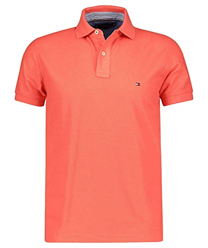 Tommy Hilfiger Herren Poloshirt Regular Fit Lobster (69) M