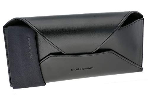 Christian Dior Homme Sonnenbrillenetui und Brillentuch 14.5cm x 4.5cm x 3cm