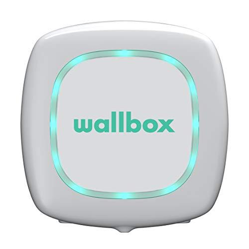 Wallbox Pulsar Caricatore per Auto Elettriche.Potenza Massima 11 kW Stazione di Ricarica Tipo 2 Cavo da 5 m.