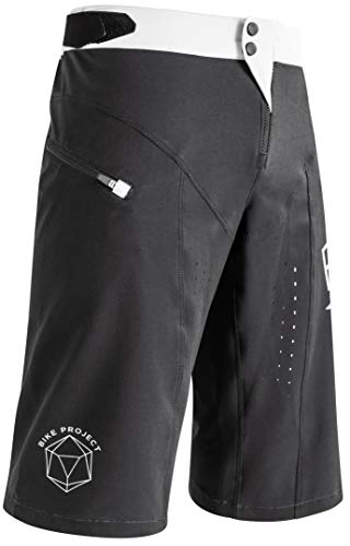 Acerbis MTB Short Legend - Pantalón corto para bicicleta, color negro, Negro , 32