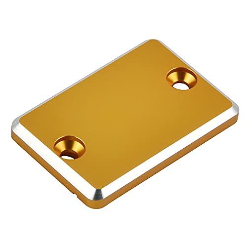 CNC Freno Delantero Master Cilindro Tapa De Reserva Cap/Ajuste para Hon.da CB 300F 400F 250F CB500X GROM MSX125 PCX150 Hornet 250 VTR/VTR-F (Color : Gold)