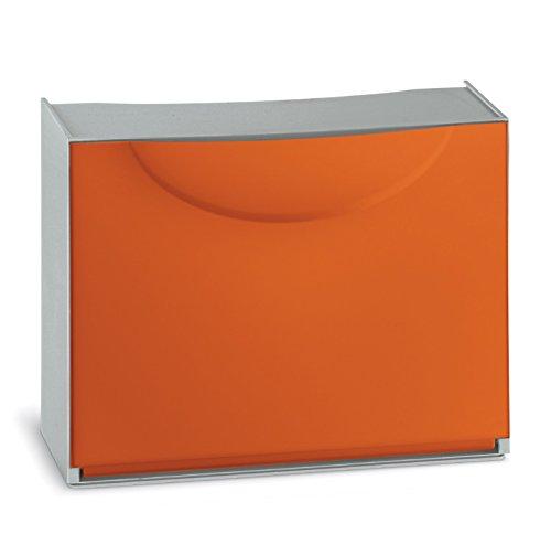 Terry Harmony - Zapatero de plástico, Naranja, 51x 19x 39cm