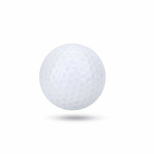 Vbestlife 4/5/6Pcs Noche Pelotas de Golf Led Light-Up Pelotas de Golf Intermitente Brilla Tiro de Larga Reutilizable Brillante Noche Electronic Ball de Golf
