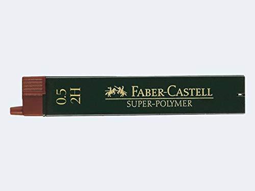 Faber-Castell 120512 2H Negro - Mina de Repuesto (2H, Negro, 0,5 ...