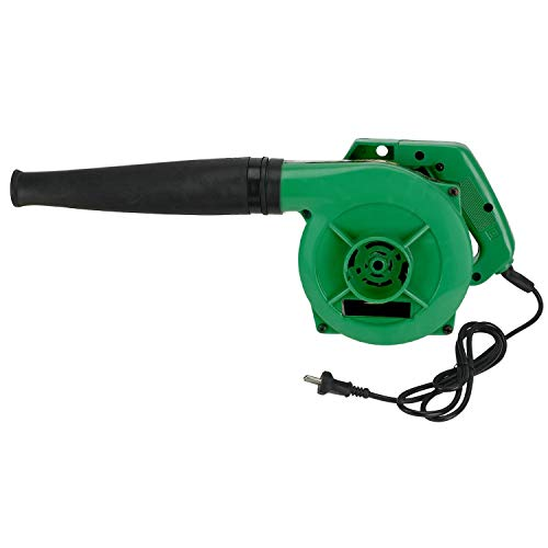 WOLFANO Metal and Plastic Single-Handed Light Weight Mini Air Dust Blower (500W, Green)