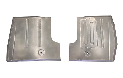 Motor City Sheet Metal - Compatible With 1961-66 FORD TRUCK FRONT FLOOR PANS F-100 thru F-600 SERIES (See Note) NEW PAIR