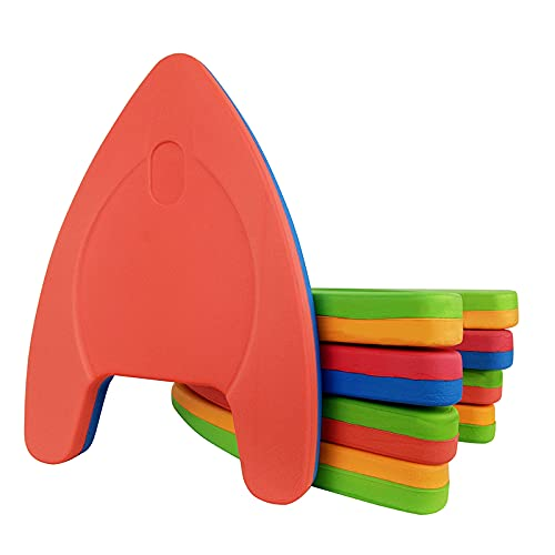 XKMY Tabla de natación ligera de EVA con forma de A, para piscina, flotador, para entrenamiento de piscina, herramientas para adultos y niños (color 41 cm, 32 cm, 4 cm, 4 cm)
