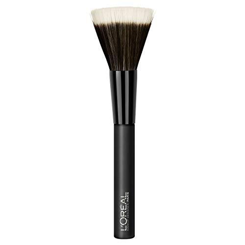 L'Oréal Paris - Brocha de Maquillaje Dúo para Bases Fluidas
