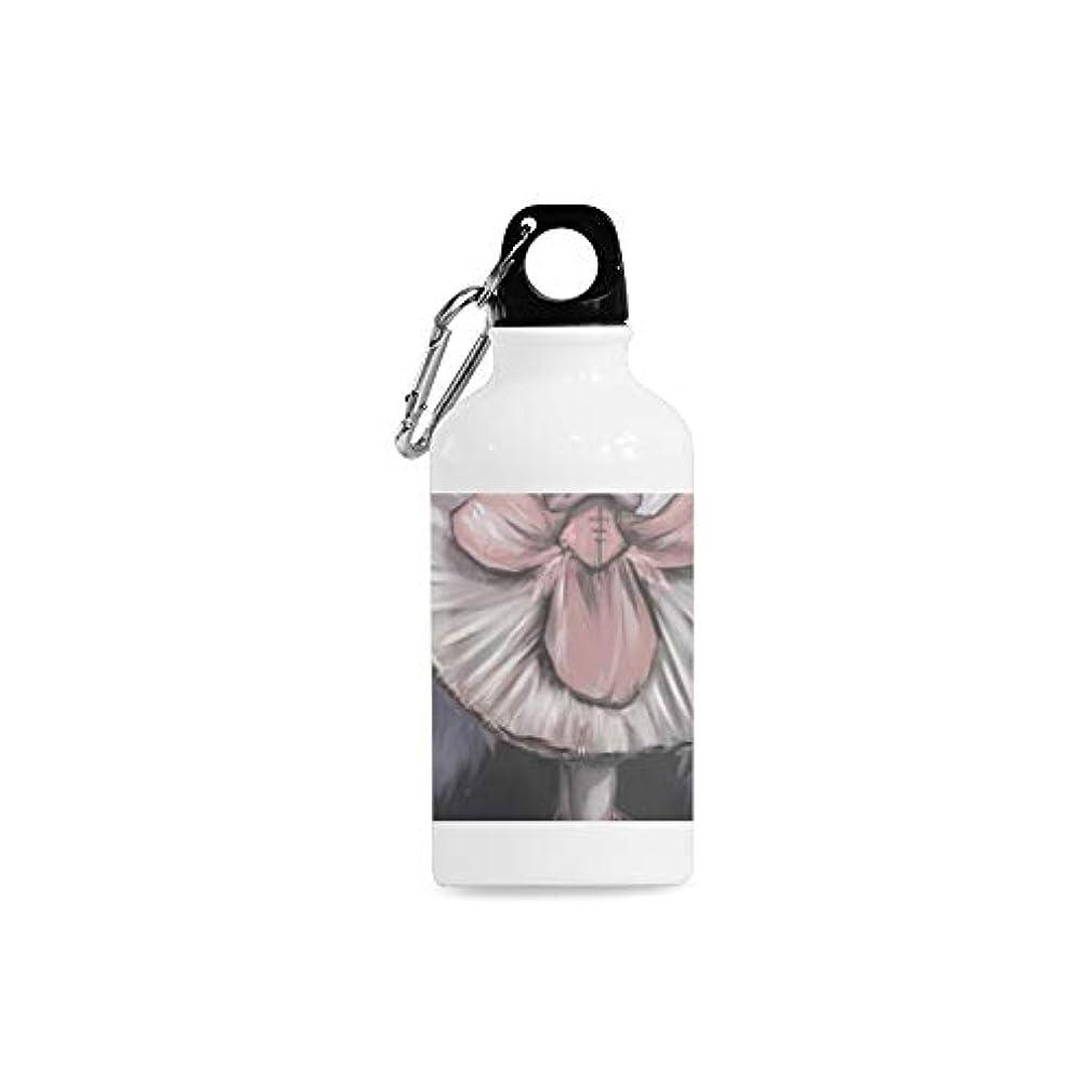 ENEVOTX Outdoor Simple Fashion Travel Ballerina Female Oil Painting Art Dance Elegant Dance Print Design Sport Water Bottle Aluminum Stainless Steel Bottle Aluminum Sport Water Bottle