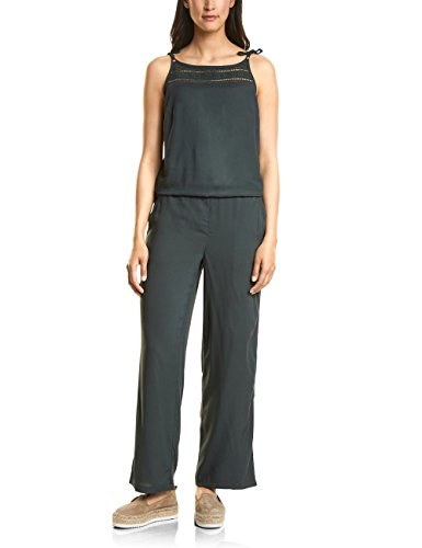 Street One Damen 371415 Leila Jumpsuit, Grün (Chilled Green 11348), 38