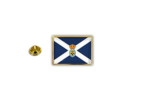 Akachafactory pinnen pin vlag nationale badge metalen revers knop Tenerife Canarische eilanden