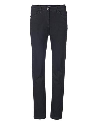 Bexleys Woman by Adler Mode Damen 5-Pocket-Jeans - Passform Comfort Black Denim 38