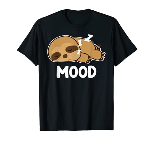 Schlafendes Faultier - Mood T-Shirt