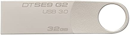 Kingston DataTraveler SE9 G2 - chiavetta 32GB USB 3.0, grigia