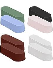 Belle Vous Polijst Verbindings Kit (8 Pak) – 63-68g Buff of Slijptset voor Lederen Strop – Bevat Groen, Diamant, Zwart, Rood, Blauw en Roze