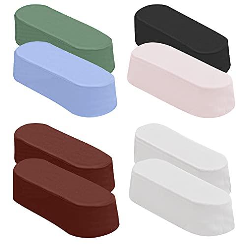 Belle Vous Polierpaste Set (8er Pack) - 63-68g Polieren/Schärfen Kit für Leder Streichriemen - Enthält: Grün, Diamantweiß, Ebenholzschwarz, Zinnoberrot, Hellblau und Pink