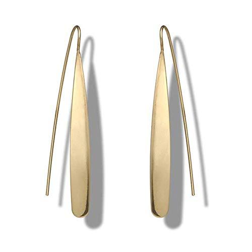Folk-custom geometrico orecchini da donna semplici orecchini lunghi con ali di animale Earrings