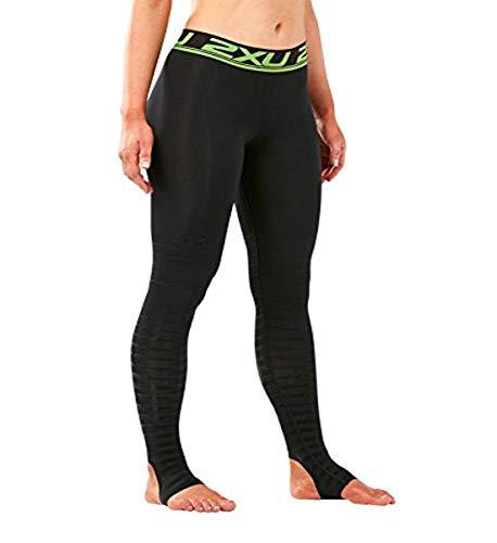 2 x U Femme Elite Power Recovery Compression Collants M Black/Nero