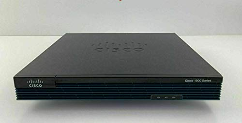 Cisco 1921 Integrated Services Router - 2 Ports - Yes - PoE Ports - 2 Slots - Gigabit Ethernet - 1U - Rack-mountable, Wall Mountable - CISCO1921-SEC/K9