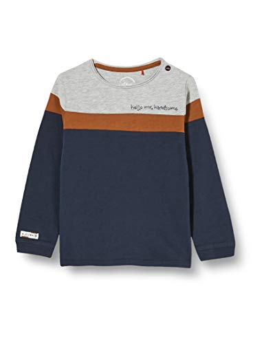 s.Oliver Junior Baby-Jungen 405.10.011.12.130.2053844 T-Shirt, 5952, 86