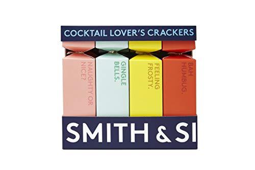 Smith & Sinclair Knallbonbons für Cocktailliebhaber – alkoholische Cocktailgummi, Witz und Hut für Geschmack und Spaß – perfekte Party-Leckerlis, Geschenkidee & Strumpffüller (8 Knallbonbons)