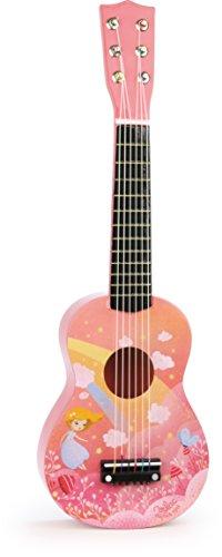 Vilac 8345 Regenbogen-Gitarre, Mehrfarbig