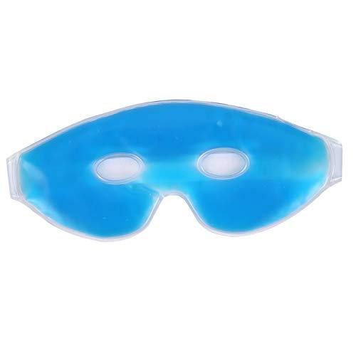 Jingyig Mascarilla de Gel para el Cuidado de los Ojos, Reutilizable con Bolsa de Hielo Mascarillas de Terapia Ocular Multiusos para Ojos, Diadema para niños para Viajes relajantes
