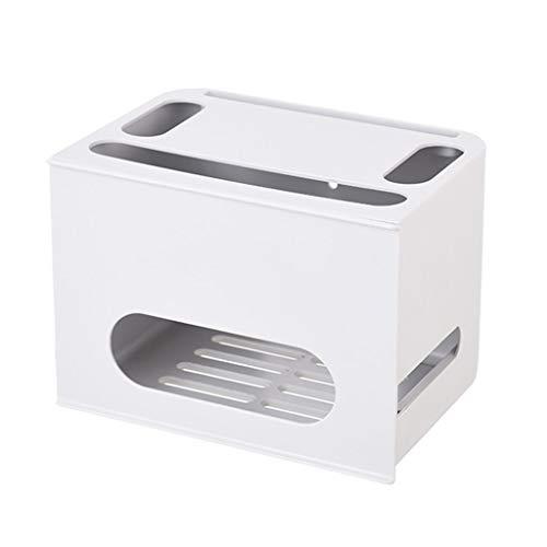 Caja wifi rack de almacenamiento caja de almacenamiento de enrutador estantes montados en la pared artefacto de almacenamiento de regleta de alimentación bastidores decodificadores de escritorio organ