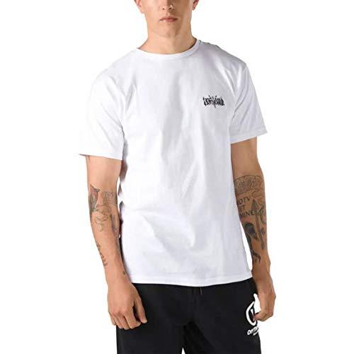 Vans Camiseta MC Classic MN Forgotten Bones SS Masculino, G, Branco