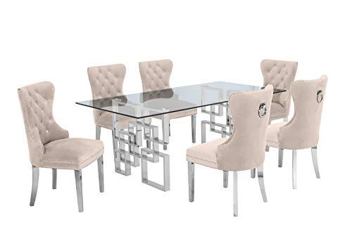 Best Quality Furniture Dining Sets, Beige