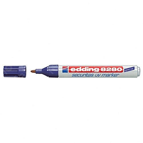 Edding Spezialmarker edding 8280 securitas UV marker, 1,5-3 mm, farblos