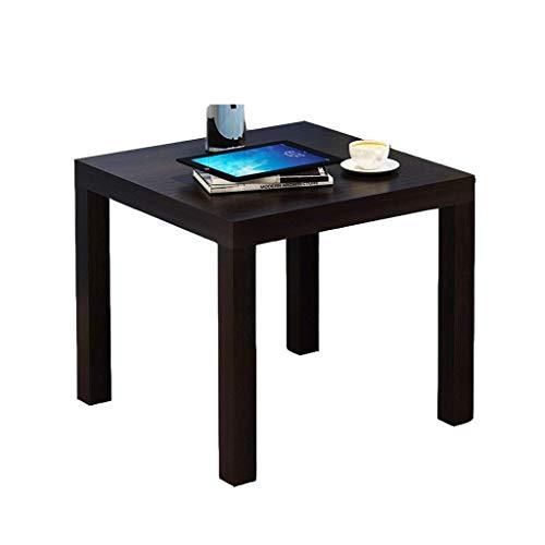 Cxmm Mesa Auxiliar Lado del sofá Estante para Mesa de Centro Simple Mesa de té móvil para Sala de Estar Mesa pequeña Se Puede empalmar (Color: A)