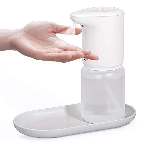 Umimile アルコールディスペンサー ノズル改良版 アルコール消毒噴霧器 自動誘導 アルコール対応 充電式 400ml IPX5防水 吐出量2段階調整可能 家庭/洗面所/病院/学校などに適用