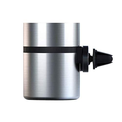 Coche, Bandeja de Ceniza de cigarros inoxidables automáticos para la mayoría del Titular de la Copa del Coche Inicio Oficina Titular de Ceniza Bandeja de Ceniza (Color: Plata ordinaria) YXF99
