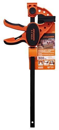 Pony Jorgensen 33412 ISD-3 12-Inch One-Handed Clamp, Orange