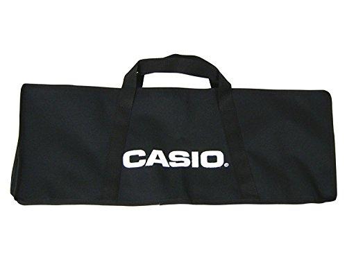 Casio SA Bag - Borsa Custodia per Trasporto Minitastiere Casio (SA-46 / SA-47 / SA-76 / SA-77), Nera in Tela non imbottita
