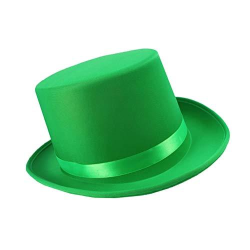 BESTOYARD  Hut St. Patrick's Day Irish Festival Dekor Hut einfache Mütze für Party Festival Carnival, Ungefähr 32x27x15cm, Grün