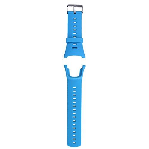 Taoytou - Correa de Repuesto para Reloj Suunto Ambit 3 Peak/Ambi, Goma Suave, Color Negro, Color Azul
