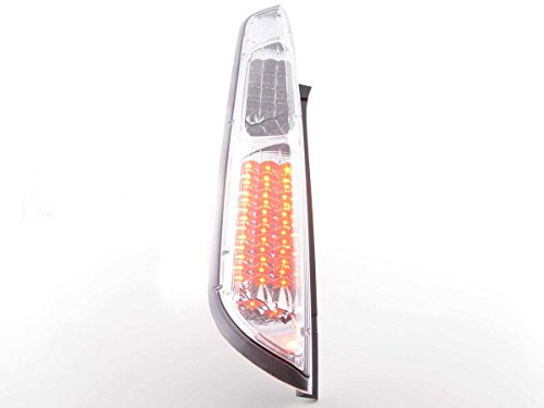FK Automotive FKRLXLFO12027 LED Feux arrière, Chromé