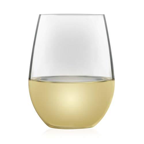 Libbey Signature Kentfield Estate All-Purpose Stemless Wine Glasses Set of 4