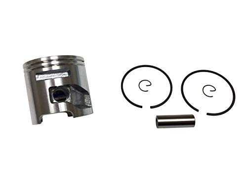 ENGINERUN 51MM Piston & Piston Ring Kit Compatible with Husqvarna K750 Parts Cut-Off Saw Partner K750 K760 Concrete Saw Parts Fits for OEM 506372401 506 37 24-01