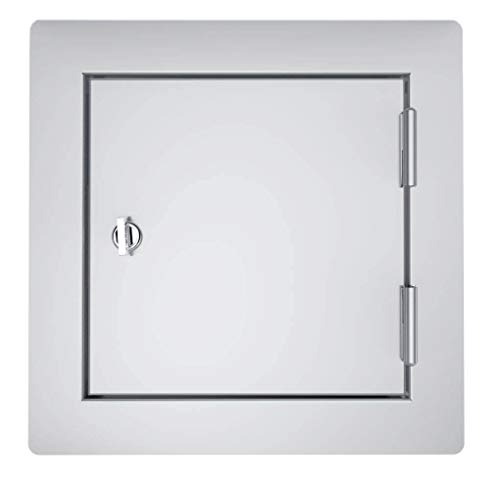 SUNSTONE C-SD12 Classic Series Flush Style Access, Untility, Grill Door, Stainless stel